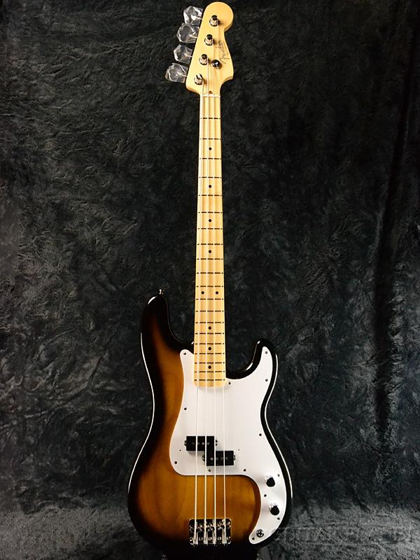 Fender Made In Japan Hybrid 50s Precision Bass 2-Color Sunburst 新品《レビューを書いて特典プレゼント!!》[フェンダージャパン][ハイブリッド][サンバースト][PB,プレシジョンベース,プレベ][Electric,エレキベース]