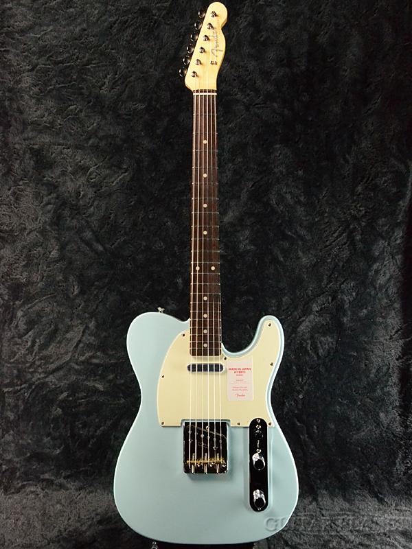 Fender Made In Japan Hybrid 60s Telecaster Sonic Blue 新品 《レビューを書いて特典プレゼント!!》[フェンダージャパン][ハイブリッド][ソニックブルー,青][テレキャスター][Electric Guitar,エレキギター]