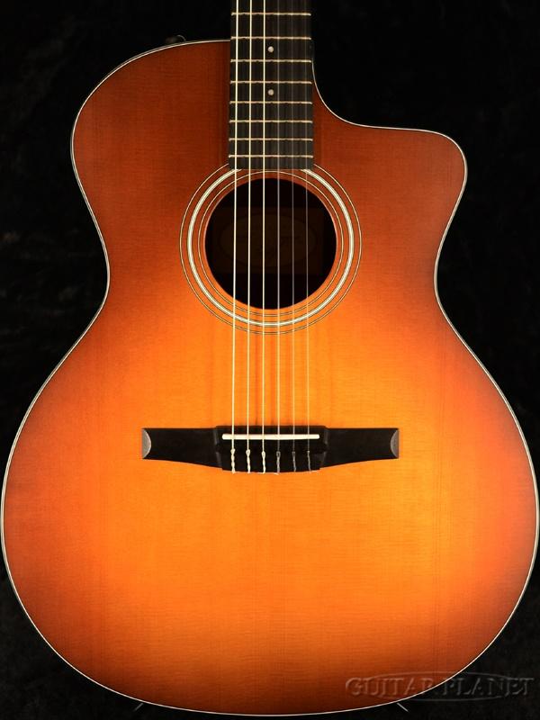Taylor 114ce-Walnut-Nylon 新品[テイラー][Sunburst,サンバースト][クラシックギター,クラギ,Classic Guitar]