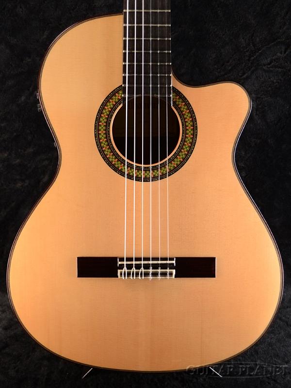 Alhambra 7P A CW E2 新品[アルハンブラ][スペイン製][Classical Guitar,クラシックギター,エレガット]