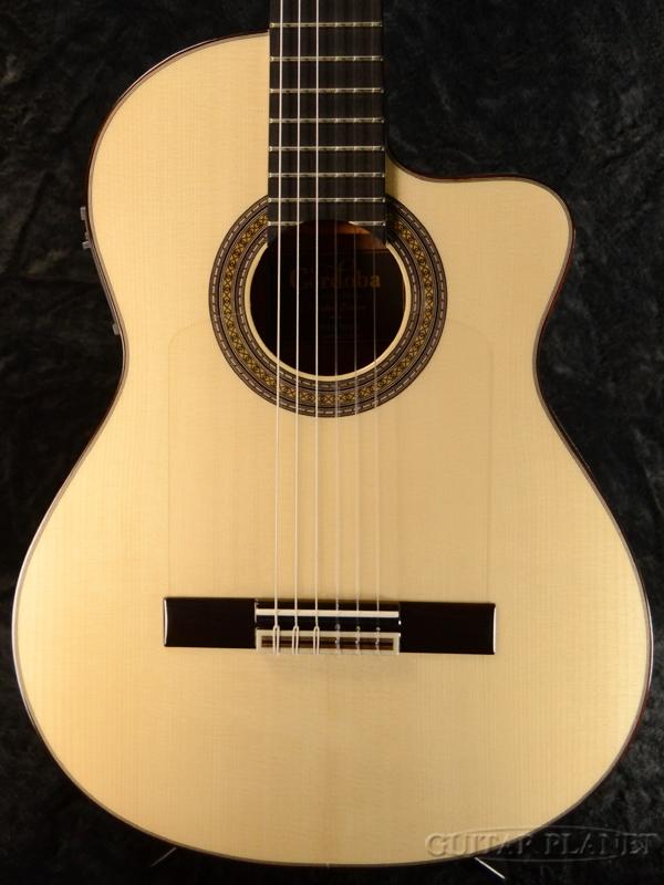 Cordoba 55FCE Negra 新品[コルドバ][スペイン製][ネグラ][Classical Guitar,クラシックギター,Flamenco,フラメンコ,エレガット]