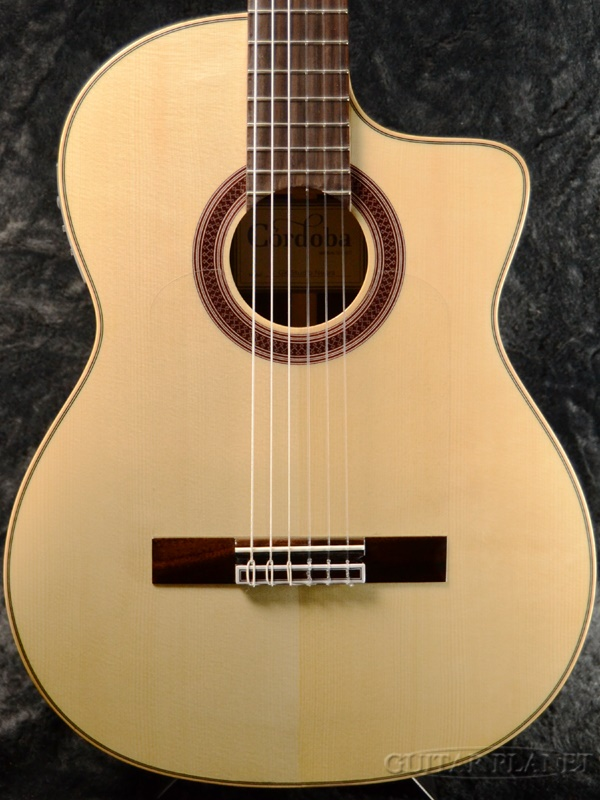 Cordoba GK Studio Negra 新品[コルドバ][GKスタジオ][ネグラ][Spruce,スプルース][PU搭載][Classical Guitar,クラシックギター,Flamenco,フラメンコ,エレガット]