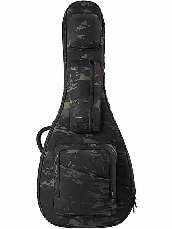 basiner ACME-AC-BC 新品 アコースティックギター用セミハードギグケース[ベイシナー][Black Camo,ブラックカモ,アーミー,迷彩][Acoustic Guitar][Gig Bag,Case,ケース]
