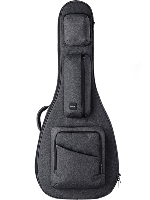 basiner ACME-AC-CG 新品 アコースティックギター用セミハードギグケース[ベイシナー][Grey,チャコールグレー,灰][Acoustic Guitar][Gig Bag,Case,ケース]