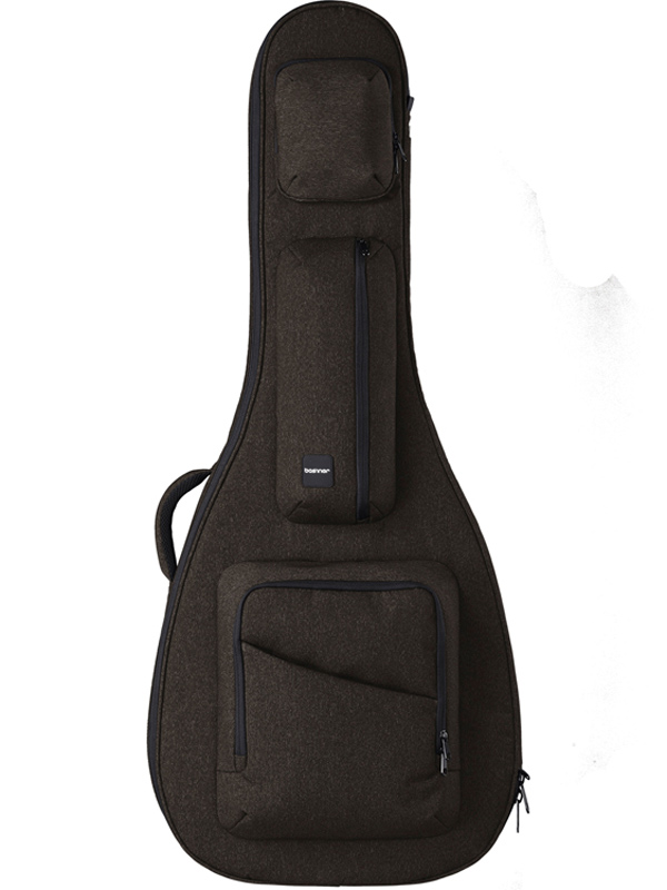 basiner ACME-AC-RB 新品 アコースティックギター用セミハードギグケース[ベイシナー][Brown,ラストブラウン,茶][Acoustic Guitar][Gig Bag,Case,ケース]