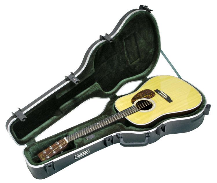 SKB Acoustic Dreadnought Deluxe Guitar Case SKB-18 アコースティックギター用ハードケース[ドレッドノート][Acoustic Guitar]