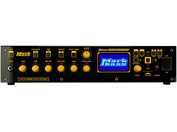 Markbass Bass MULTIAMP 新品 ヘッドアンプ [マークベース][Bass Amplifier Head,ベースアンプヘッド]