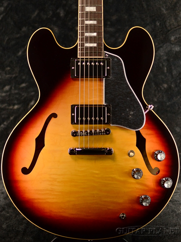 Gibson ES-335 Figured 2019 -Sunset Burst--#126290183 新品[ギブソン][ES335][サンセットバースト][セミアコ][Electric Guitar,エレキギター]