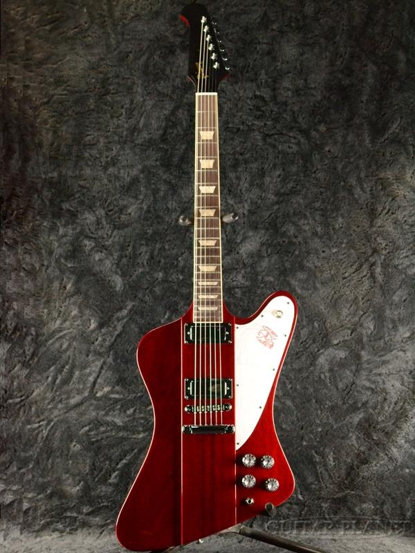 Gibson Firebird -Cherry- 新品[ギブソン][ファイヤーバード][Red,レッド,サテンチェリー,赤,木目][Electric Guitar,エレキギター]