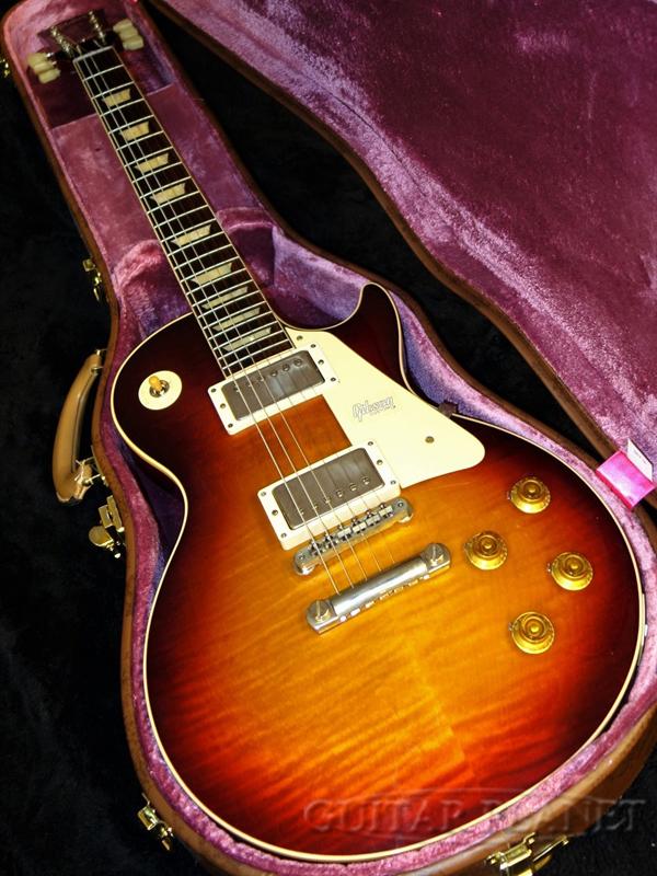 【現地選定材使用!!】Gibson Custom Shop ~Historic Collection~ 1958 Les Paul Standard Reissue VOS -Factory Burst- #8 9701 新品[ギブソン][ファクトリーバースト][レスポール,LP][Electric Guitar,エレキギター]
