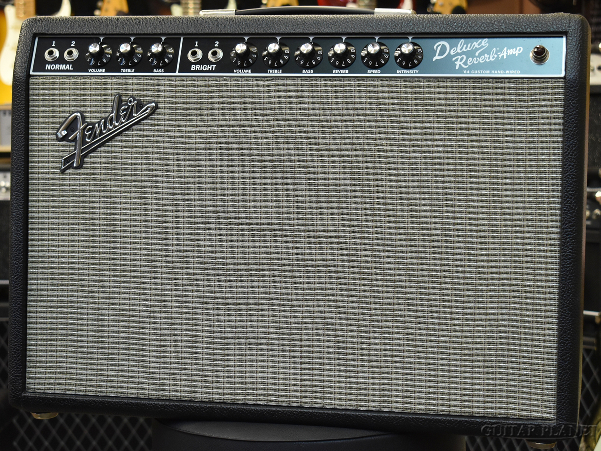 Fender 64 Custom Deluxe Reverb ''Hand-Wired & Made in USA'' 新品 ギター用コンボアンプ[フェンダー][カスタムデラックスリバーブ][真空管ギターアンプ/コンボ,Guitar combo amplifier]