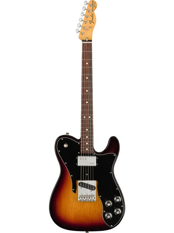 Fender USA American Original 70s Telecaster Custom -3-Color Sunburst- 新品[フェンダー][アメリカンオリジナル][サンバースト][テレキャスターカスタム][Electric Guitar,エレキギター]