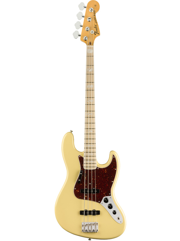 Fender USA American Original '70s Jazz Bass -Vintage White- 新品[フェンダー][アメリカンオリジナル][ビンテージホワイト,白][ジャズベース,JB][Electric Bass,エレキベース]