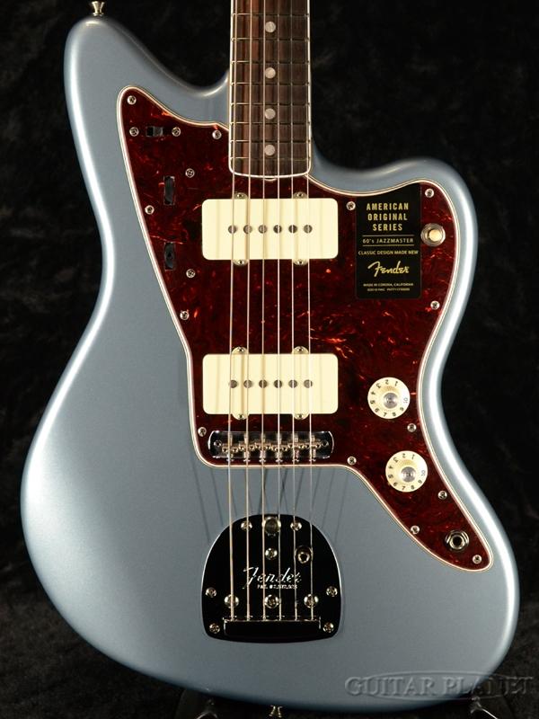 Fender USA American Original '60s Jazzmaster -Ice Blue Metallic- 新品[フェンダー][アメリカンオリジナル][アイスブルーメタリック,青][ジャズマスター][Electric Guitar,エレキギター]