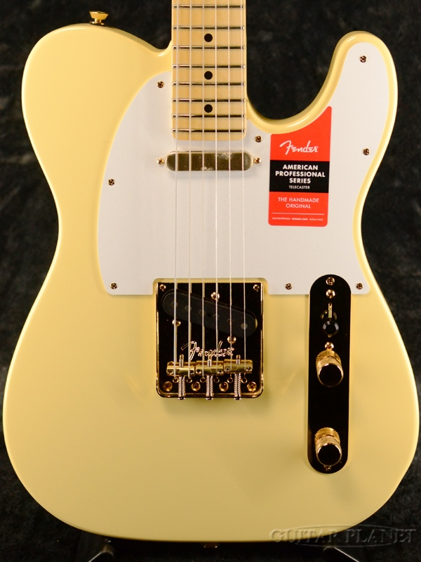 Fender USA Limited Edition American Professional Telecaster Gold Hardware-Vintage White- 新品[フェンダー][アメリカンプロフェッショナル][テレキャスター][ヴィンテージホワイト,白][Electric Guitar,エレキギター]