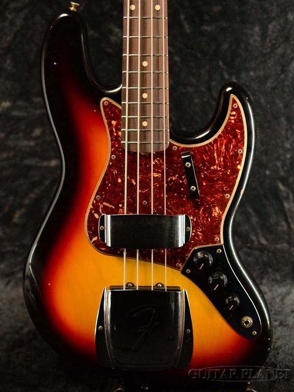 Fender Custom Shop ~Custom Build~ 1962 Jazz Bass Journeyman Relic -3-Color Sunburst- 新品[フェンダーカスタムショップ][ジャズベース][サンバースト][Electric Bass,エレキベース]