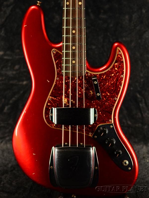 Fender Custom Shop ~Custom Build~ 1964 Jazz Bass Journeyman Relic -Candy Apple Red- 新品[フェンダーカスタムショップ][ジャズベース][キャンディアップルレッド,赤][Electric Bass,エレキベース]