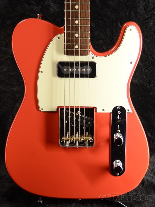 【お気にいる】 Fender FSR Made in Japan Hybrid 60s Telecaster P-90 -Fiesta Red- 新品 《レビューを書いて特典プレゼント!!》[フェンダージャパン][ハイブリッド][レッド,赤][テレキャスター][Electric Guitar,エレキギター], 雄物川町 c324f98b