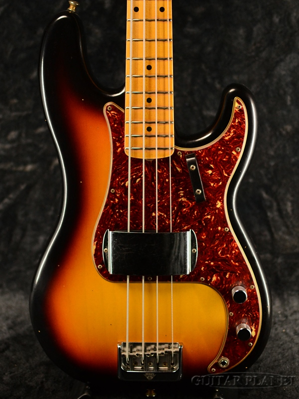 Fender Custom Shop ~2019 Custom Collection~ 2019 Postmodern Bass FLASH-COAT Journeyman Relic -Faded 3-Color Sunburst- 新品[フェンダーカスタムショップ][プレシジョンベース,プレベ][サンバースト][Electric Bass,エレキベース]