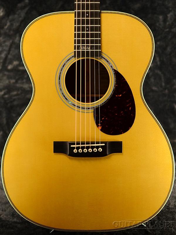 Martin OMJM John Mayer w/Fishman Gold Plus Natural 新品[マーチン][John Mayer,ジョン・メイヤー][OMサイズ][フィッシュマン搭載][エレアコ][Acoustic Guitar,アコースティックギター,アコギ,Folk Guitar,フォークギター]