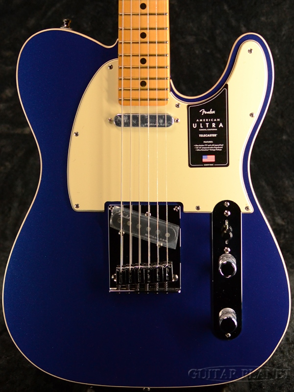 Fender USA American Ultra Telecaster -Cobra Blue / Maple- 新品[フェンダー][アメリカンウルトラ][コブラブルー,青][メイプル][テレキャスター][Electric Guitar,エレキギター]