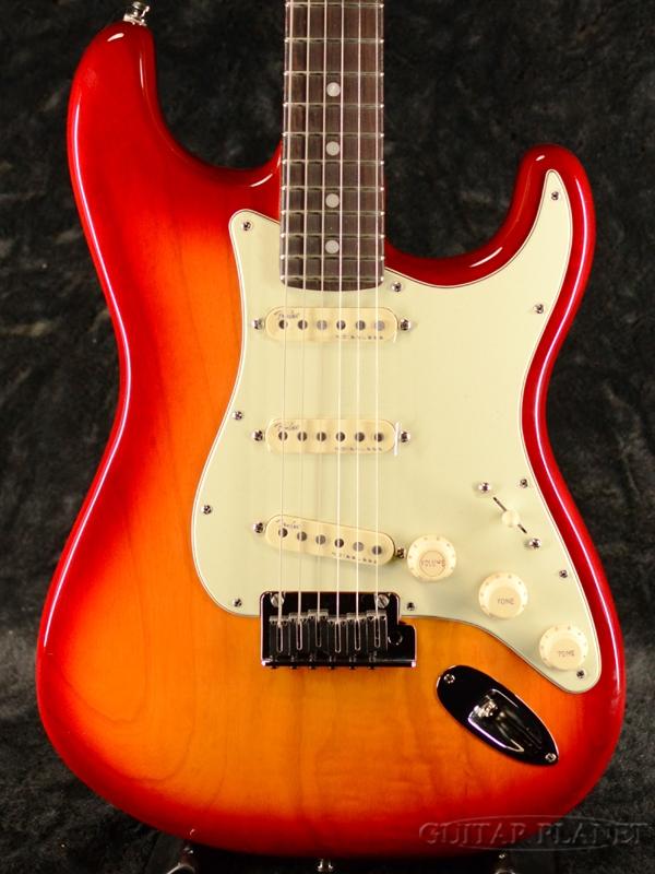 Fender USA American Ultra Stratocaster -Plasma Red Burst / Rosewood- 新品[フェンダー][アメリカンウルトラ][プラズマレッドバースト,赤][ローズウッド][ストラトキャスター][Electric Guitar,エレキギター]