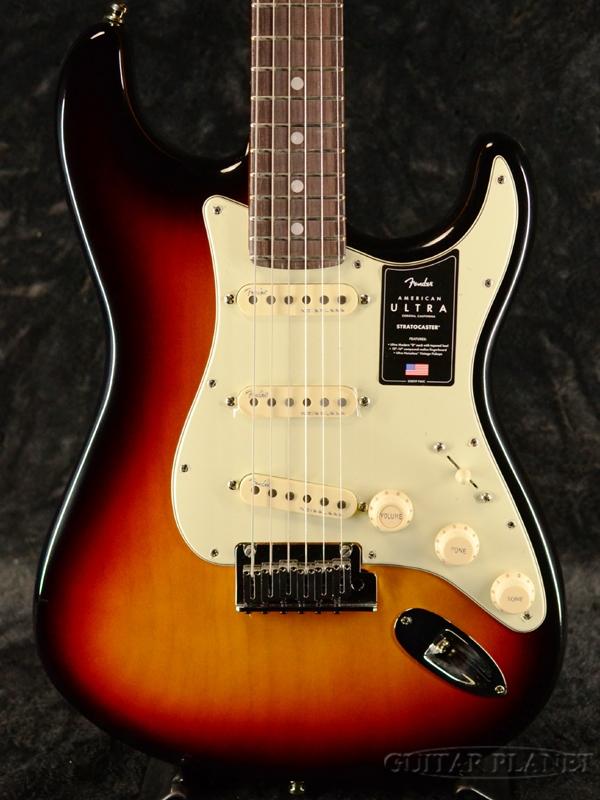 Fender USA American Ultra Stratocaster -Ultraburst / Rosewood- 新品[フェンダー][アメリカンウルトラ][Sunburst,ウルトラバースト,サンバースト][ローズウッド][ストラトキャスター][Electric Guitar,エレキギター]