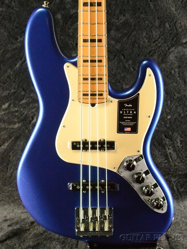 Fender USA American Ultra Jazz Bass -Cobra Blue / Maple- 新品[フェンダー][アメリカンウルトラ][コブラブルー,青][メイプル][ジャズベース][Electric Bass,エレキベース]