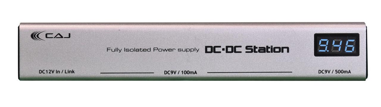 純正アダプター付 Custom Audio Japan DC Station Effector エフェクター 時間指定不可 カスタムオーディオジャパン CAJ ステーション 限定価格セール パワーサプライ