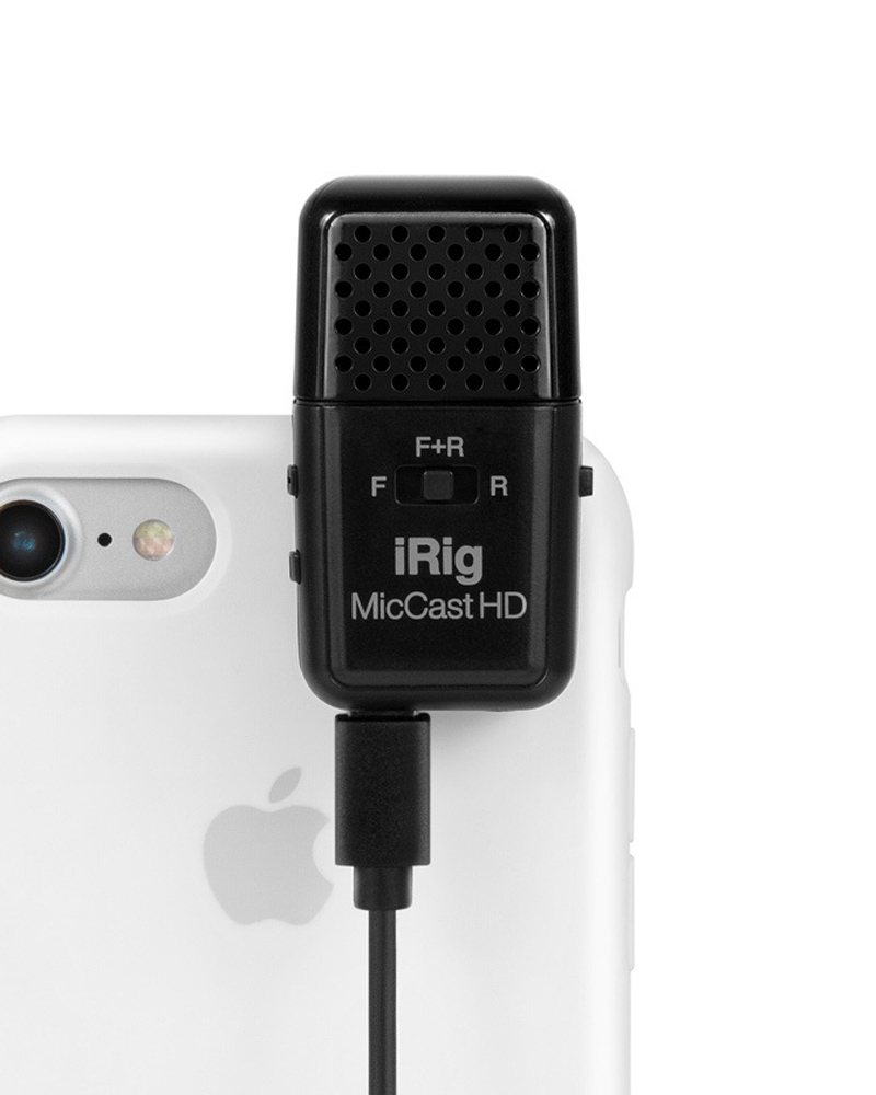 IK Multimedia iRig Mic Cast HD 新品 iOS/Android用マイク[IKマルチメディア][アイリグ][iPhone][iPad][iPod Touch][Microphone]