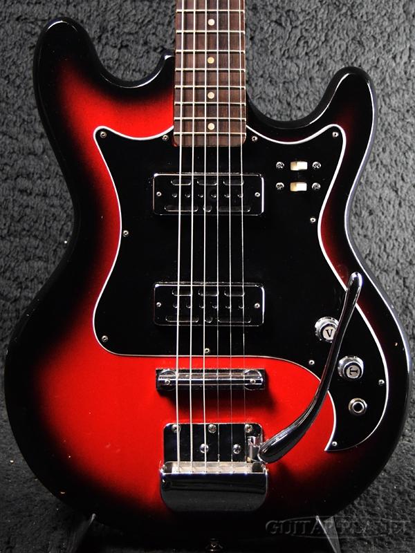 【中古】Teisco 1960's Vision VEG-120 -Red Sunburst- [テスコ][レッドサンバースト,赤][Bizarre,ビザールギター][Electric Guitar,エレキギター]【used_エレキギター】
