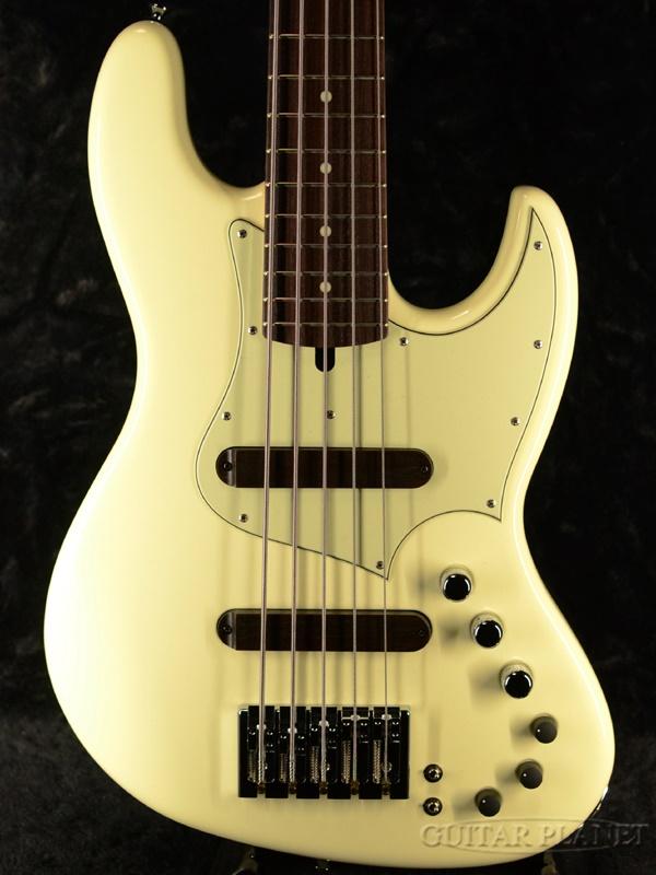 XOTiC XJ-1T 5st Alder/Rosewood -Vintage White- 新品[エキゾチック][5strings,5弦][ヴィンテージホワイト,白][JB,ジャズベースタイプ][Electric Bass,エレキベース]