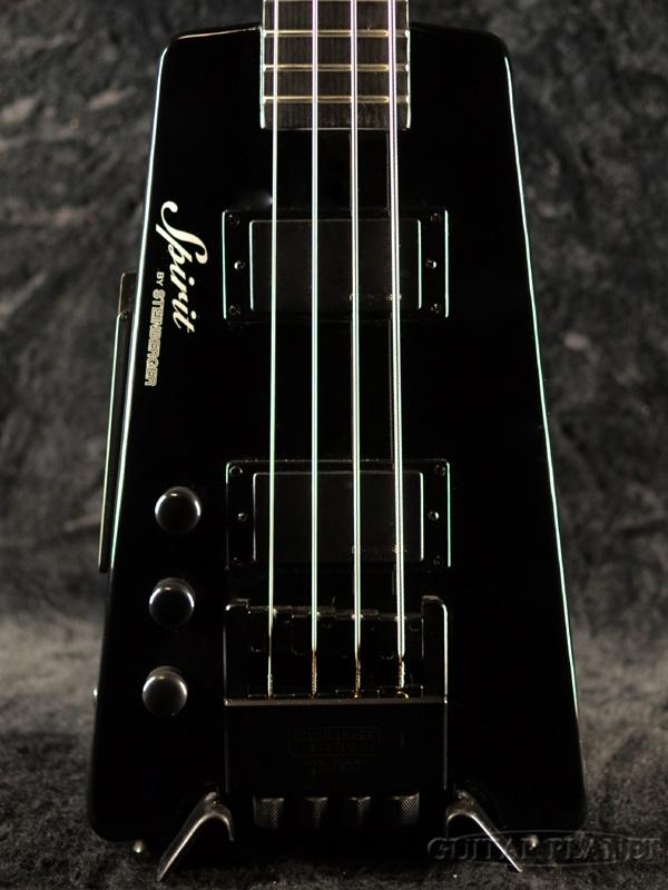 Steinberger Spirit XT-2 LH Black 新品[スタインバーガー][スピリット][左用,左利き,レフトハンド,レフティー,Left hand,Lefty][ブラック,黒][Electric Bass,エレキベース][XT2]