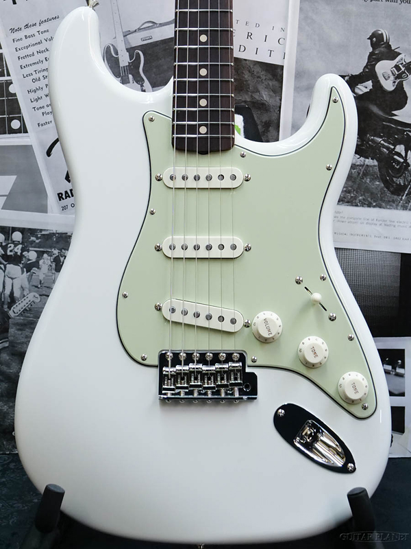 Fender Custom Shop ~Spec.Piece~ Custom Build 1960 Stratocaster N.O.S. -Olympic White- 新品[フェンダーカスタムショップ][ストラトキャスター][オリンピックホワイト,白][Electric Guitar,エレキギター]