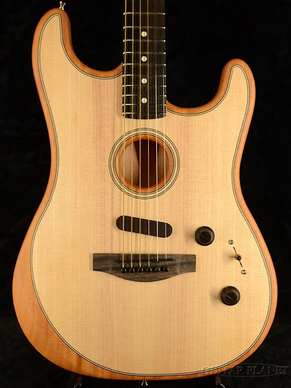 Fender USA American Acoustasonic Stratocaster -Natural- 新品[フェンダー][アコースタソニック][ナチュラル][ストラトキャスター][Electric Guitar,エレキギター]