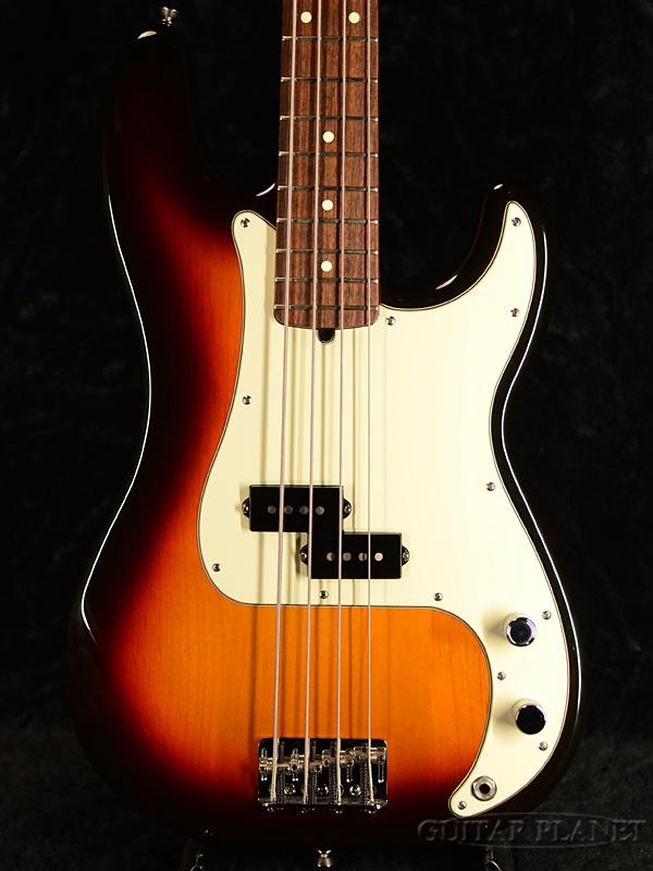 【中古】Fender USA American Precision Bass -3TS/Rosewood- 2007年製[フェンダー][アメリカン][サンバースト][プレシジョンベース][Electric Bass,エレキベース]【used_ベース】