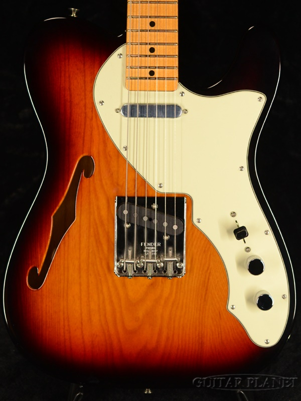 Fender USA American Original 60s Telecaster Thinline -3 Color Sunburst- 新品[フェンダー][アメリカンオリジナル][サンバースト][テレキャスターシンライン][Electric Guitar,エレキギター]