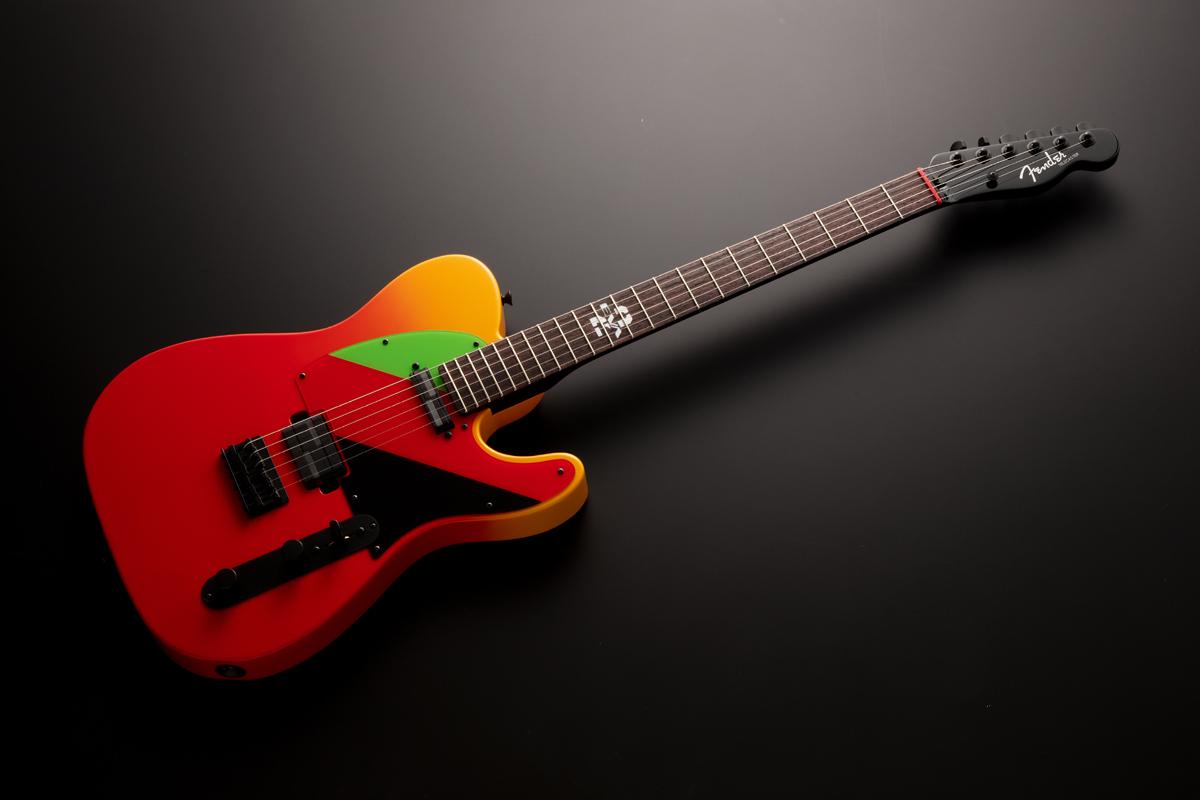 Fender Made in Japan 2020 Evangelion Asuka Telecaster Rosewood Fingerboard Asuka Red 新品[フェンダージャパン][新世紀エヴァンゲリオン][惣流アスカラングレー,式波アスカラングレー][TL,テレキャスタータイプ][Electric Guitar,エレキギター]