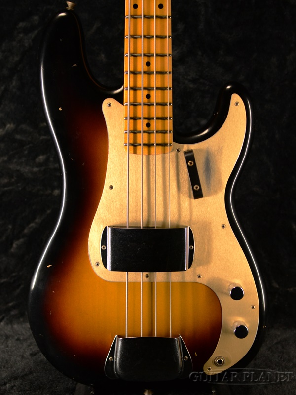 Fender Custom Shop ~2020 Custom Collection~1957 Precision Bass Journeyman Relic -Wide Fade 2-Color Sunburst-【3.88kg】新品[フェンダーカスタムショップ][プレシジョンベース][サンバースト][Electric Bass,エレキベース]