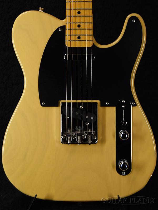 【中古】Fender Japan Exclusive Classic 50s Telecaster -Off White Blonde- 2016年製[フェンダー][ジャパン][テレキャスター][Off-White Blonde,白,黃][Ash,アッシュ][Electric Guitar,エレキギター]【used_エレキギター】