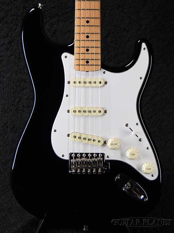 【中古】Fender Japan ST-STD -BLK/M (Black / Maple)- 2012年製[フェンダージャパン][ブラック,黒][Stratocaster,ストラトキャスター][Electric Guitar,エレキギター]【used_エレキギター】