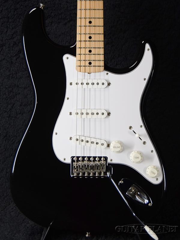 【中古】Fender Japan ST-STD -BLK/M (Black)- 2006-2008年製[フェンダージャパン][ブラック,黒][Stratocaster,ストラトキャスタータイプ][Electric Guitar,エレキギター]【used_エレキギター】