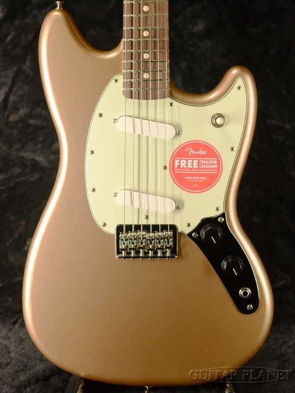 Fender Mexico Player Duo Sonic -Firemist Gold- 新品[フェンダー][プレイヤー][ファイヤーミストゴールド,金][デュオソニック][Electric Guitar,エレキギター]