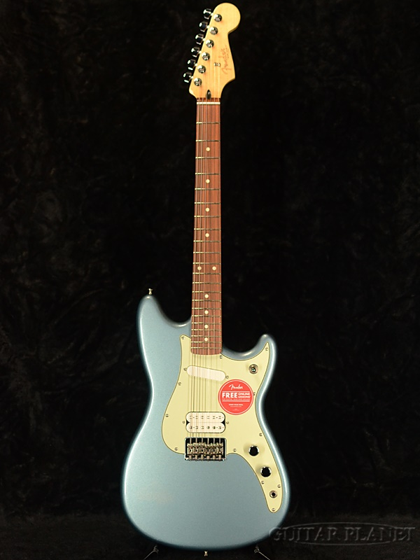 Fender Mexico Player Duo-Sonic HS -Ice Blue Metallic- 新品[フェンダー][プレイヤー][アイスブルーメタリック,青][デュオソニック][Electric Guitar,エレキギター]