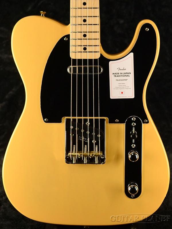 【NEW MODEL】Fender Made In Japan Traditional 50s Telecaster -Butterscotch Blonde- 新品 [フェンダージャパン][トラディショナル][バタースコッチブロンド,黄][テレキャスター][Electric Guitar,エレキギター]