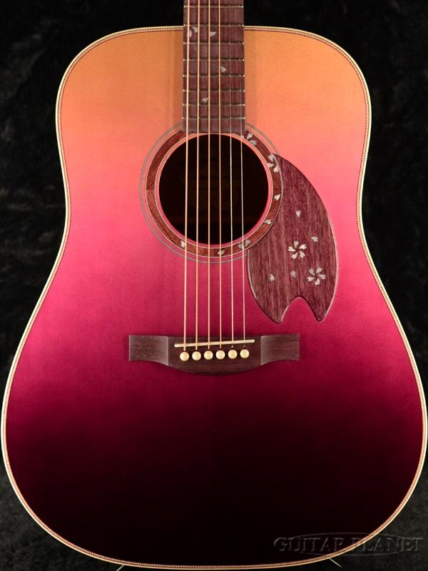 【限定12本】Headway Aska Team Build HD-SAKURA'20 A,S/ATB #A02380 新品[ヘッドウェイ][国産/日本製][桜,サクラ][朱理桜][Pink,ピンク][Acoustic Guitar,アコースティックギター,アコギ,Folk Guitar,フォークギター]