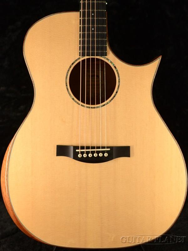 Headway Japan Tune-Up Series HGAF-5100SE/FMY-C Natural 新品[ヘッドウェイ][ジャパンチューン][ナチュラル,木目][エレアコ][フローレンタインカッタウェイ][Acoustic Guitar,アコギ,アコースティックギター,Folk Guitar,フォークギター]