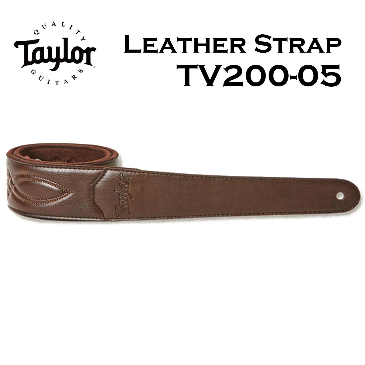 Taylor TV200-05 Vegan Leather Strap Chocolate Brown おすすめ特集 本物 2