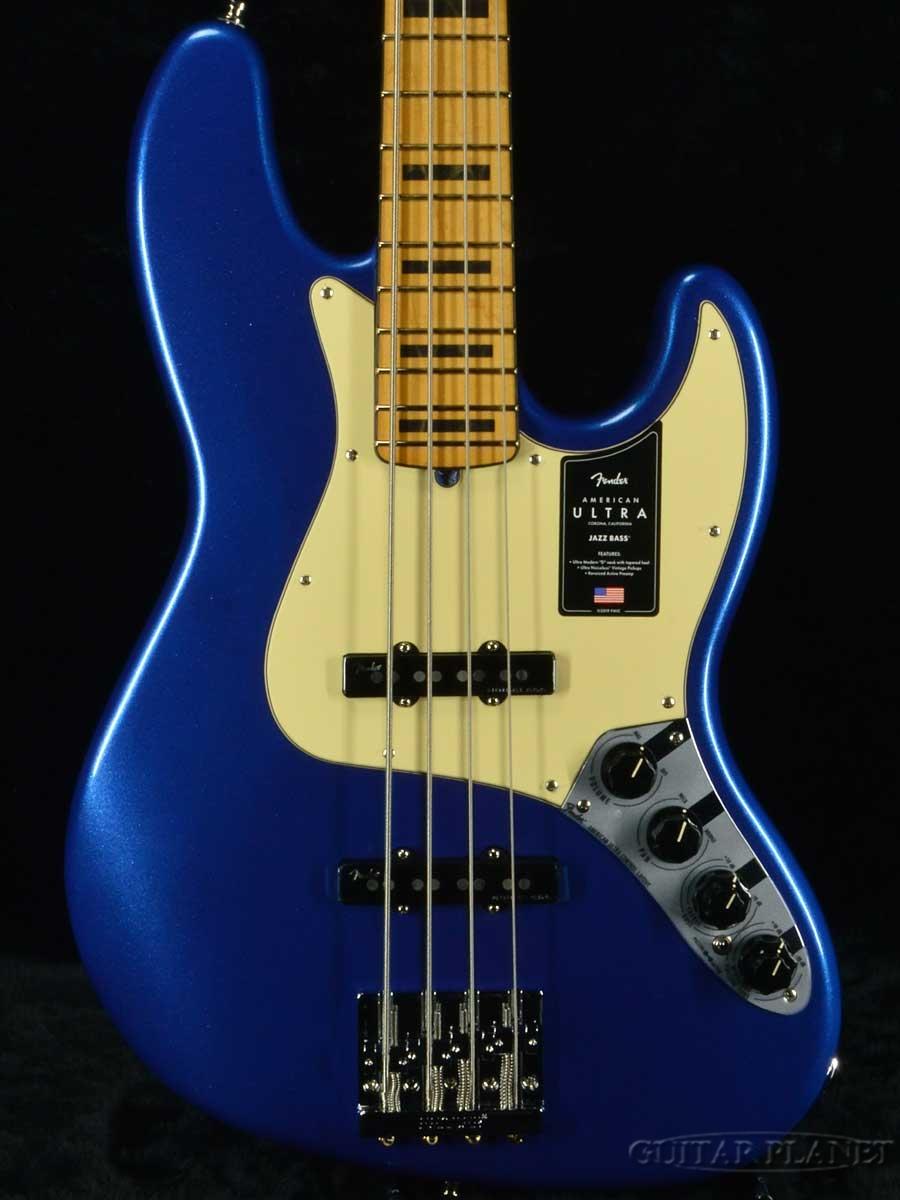 【感謝価格】 Fender USA Maple- American Ultra Jazz Bass Bass -Cobra Blue/ -Cobra Maple- 新品【US20050136】【4.34kg】[フェンダー][アメリカンウルトラ][コブラブルー,青][メイプル][ジャズベース][Electric Bass,エレキベース], デジタル&バラエティ キョーエー:6b82c235 --- tedlance.com
