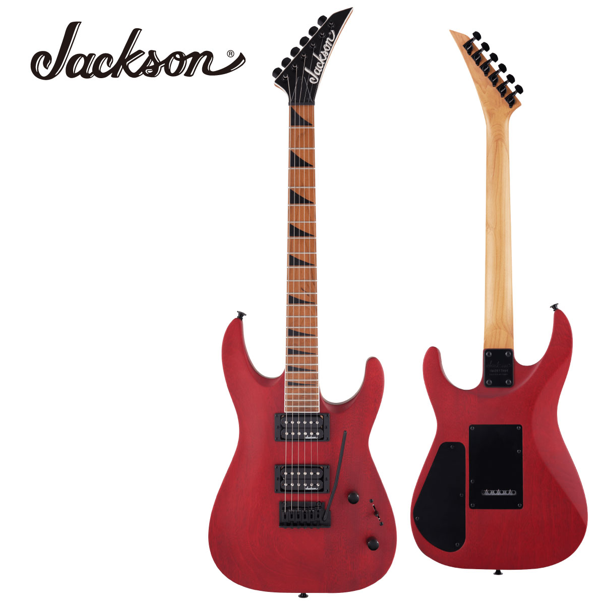 Jackson JS Series 休日 Dinky Arch Top JS24 DKAM -Red Electric Stain- Guitar 新品 エレキギター 赤 ジャクソン レッド 通販 激安◆